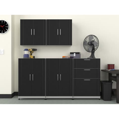 "ClosetMaid 72"" W 5-Piece Garage Storage Cabinet Set"