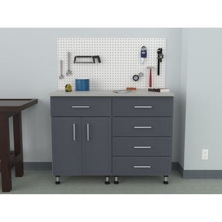 """ClosetMaid ProGarage 48"""" W 4-Piece Garage Storage Cabinet Set"""