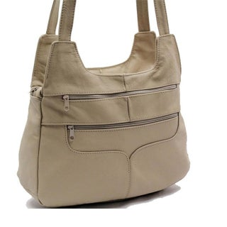 AFONiE Women's Favorite Leather Shoulder Handbag