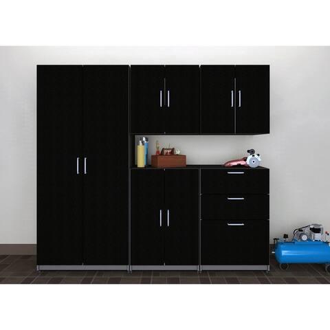 """ClosetMaid 80"""" W 5 Piece Garage Storage Cabinet Set"""