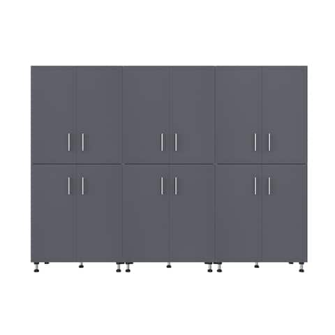 ClosetMaid ProGarage 3 Piece Garage Storage Cabinet Set