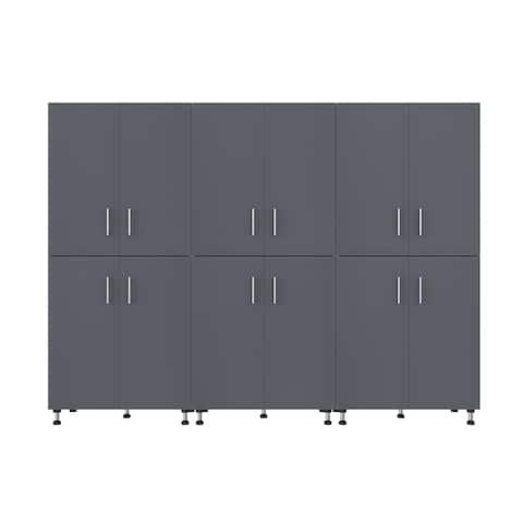 ClosetMaid ProGarage 3 Piece Garage Storage Cabinet Set