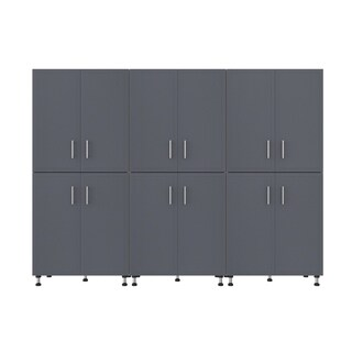 "ClosetMaid ProGarage 108"" W 3-Piece Garage Storage Cabinet Set"