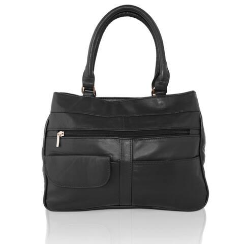 6166bfbe7c22ba Buy Black, Leather Shoulder Bags Online at Overstock | Our Best Shop ...