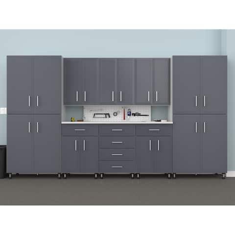 ClosetMaid ProGarage 10 Piece Garage Storage Cabinet Set