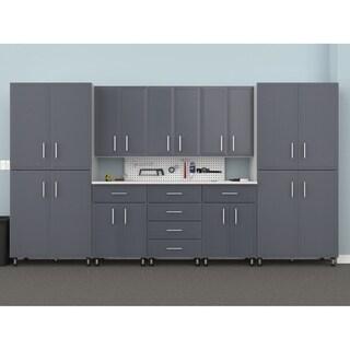 """ClosetMaid ProGarage 144"""" W 10-Piece Garage Storage Cabinet Set"""