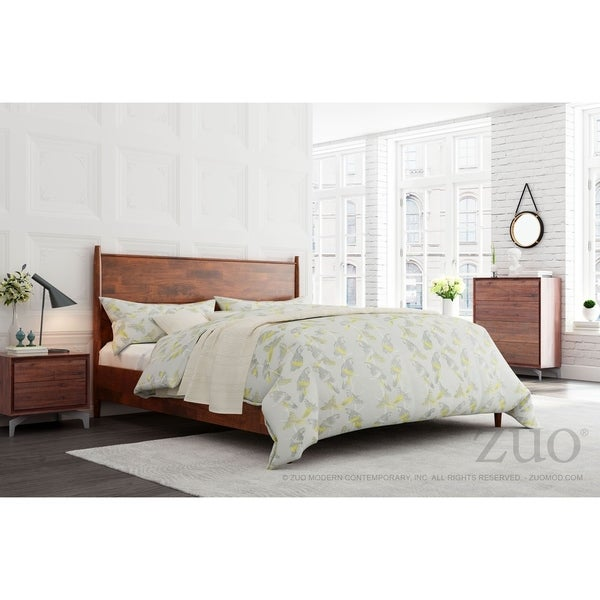 Nevada Headboard King Tobacco by Zuo