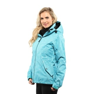 Pulse Women's Teal Ivy Systems 3 in 1 Ski/Snowboard Jacket