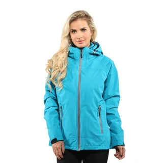 Pulse Women's Teal Swiss Systems 3 in 1 Ski/Snowboard Jacket