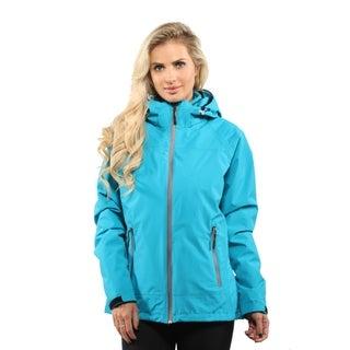 Pulse Women's Teal Swiss Systems 3 in 1 Ski/Snowboard Jacket