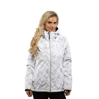 Pulse Women's White Geo Ski/Snowboard Jacket|https://ak1.ostkcdn.com/images/products/18507188/P24619736.jpg?impolicy=medium