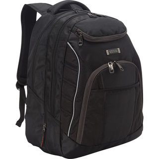 Kenneth Cole Reaction Dual Compartment Expandable Large Capacity 17-inch Laptop Backpack