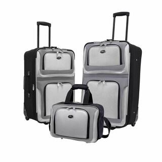 U.S. Traveler New Yorker 3-Piece Luggage Set