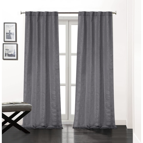 Shop Soho Rod Pocket Window Curtain Panels With Thermal