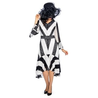 Giovanna Signature Women's Color Block High-Low Lace Dress (More options available)