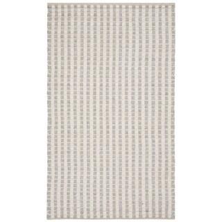 Safavieh Hand-Woven Natura Grey/ Ivory Bamboo Silk Rug (3' x 5')