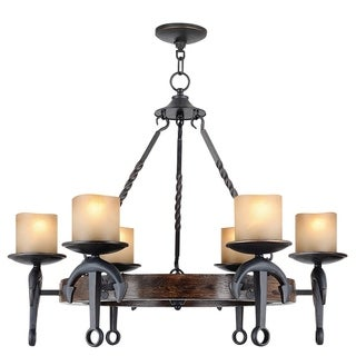 Livex Lighting Williamsburgh 5 Light Polished Brass Chandelier