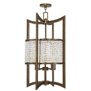 Livex Lighting Grammercy 5 Light Hand Painted Palacial Bronze Lantern