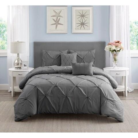 Hampton Pleated Comforter Set