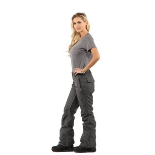 Pulse Women's Black Twill Ski/Snowboard Pant|https://ak1.ostkcdn.com/images/products/18507913/P24620413.jpg?_ostk_perf_=percv&impolicy=medium