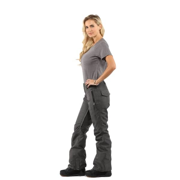 af812b180 Shop Pulse Women's Black Twill Ski/Snowboard Pant - Free Shipping ...
