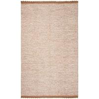 Safavieh Hand-Woven Montauk Brown Cotton Rug - 5' x 8'