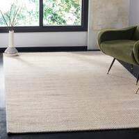 Safavieh Hand-Woven Natura Ivory Wool Rug - 5' x 8'