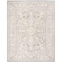 Safavieh Reflection Light Grey/ Cream Polyester Rug - 6' x 9'