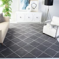Safavieh Handmade Cambridge Grey Wool Rug - 8' x 10'