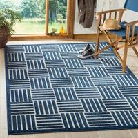 Safavieh Cottage Blue/ Grey Rug - 8' x 11'2