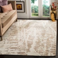 Safavieh Hand-Woven Mirage Ivory/ Brown Viscose Rug - 8' x 10'
