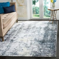 Safavieh Hand-Woven Mirage Ivory/ Grey Viscose Rug - 8' X 10'