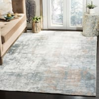 Safavieh Handmade Mirage Dream Ivory/ Grey Viscose Rug - 9' x 12'