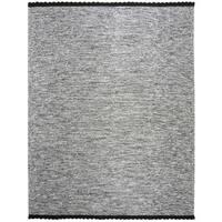 Safavieh Hand-Woven Montauk Black Cotton Rug - 8' x 10'