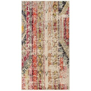 Safavieh Monaco Bohemian Light Grey/ Multi Rug (2'2 x 4')