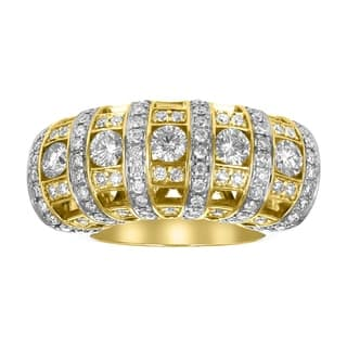 14K Yellow Gold 2ct TDW Pave Diamond Cocktail Ring - White|https://ak1.ostkcdn.com/images/products/18510564/P24621352.jpg?impolicy=medium
