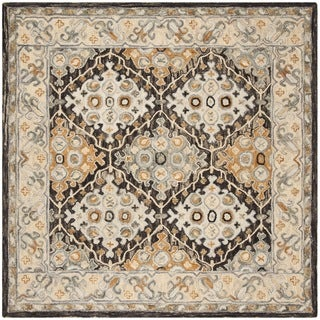 Safavieh Handmade Aspen Beige/ Brown Wool Rug (7' Square)