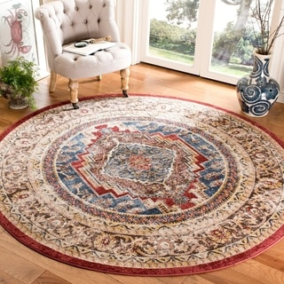 Safavieh Bijar Royal/ Brown Rug (6'7 Round)