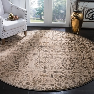 Safavieh Brilliance Vintage Cream/ Bronze Rug (6'7 Round)