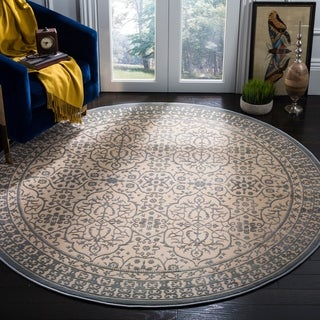 Safavieh Brilliance Vintage Cream/ Sage Rug (6'7 Round)