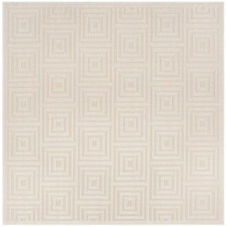 Safavieh Cottage Cream/ Beige Rug (6'7 Square)