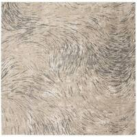 Safavieh Meadow Ivory/ Grey Rug - 6'7 Square