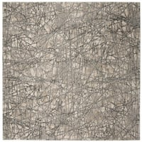 Safavieh Meadow Beige/ Grey Rug (6'7 Square)