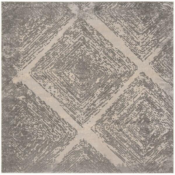 "Safavieh Meadow Taupe Rug - 6'-7"" X 6'-7"" Square"