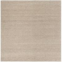 Safavieh Hand-Woven Natura Beige Wool Rug - 6' Square