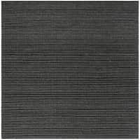 Safavieh Hand-Woven Natura Grey/ Black Wool Rug (6' Square)
