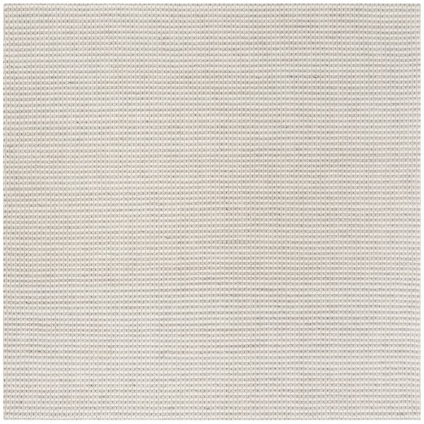 Safavieh Hand-Woven Natura Silver/ Ivory Wool Rug - 6' Square