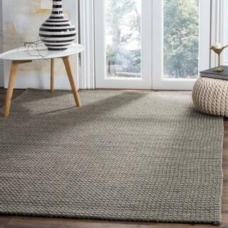 Safavieh Handmade Soho Loops Grey New Zealand Wool Rug 6