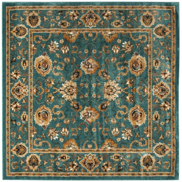 Shop Safavieh Summit Teal/ Teal Rug