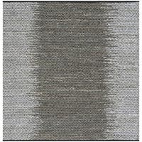 Safavieh Hand-Woven Vintage Leather Light Grey/ Grey Leather Rug - 6' Square